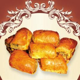 Ciastka jarskie kapuściano-pieczarkowe
