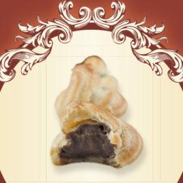 Pijane mini ptysie o smaku czekoladowym