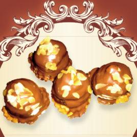 Babeczki truflowe z orzechową czekoladą