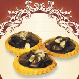 Medaliony z wiśnią i czekoladą