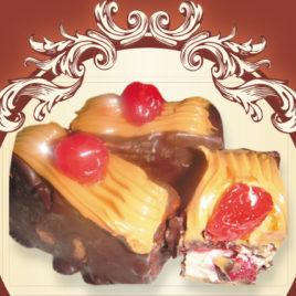 Serusie czekoladowe z wiśnią