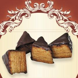 Mini sękacze w mlecznej czekoladzie