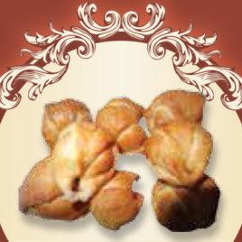 Mini rogaliki truskawkowe