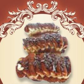 Biszkoptowa delicja czekoladowo – wiśniowa
