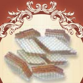 Wafle karmelowe